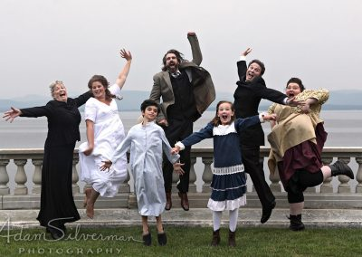 Secret Garden cast jumping