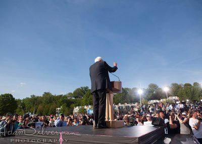Bernie Sanders campaign kick-off