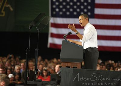 Obama speaks in Vermont