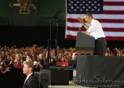 Obama in Vermont