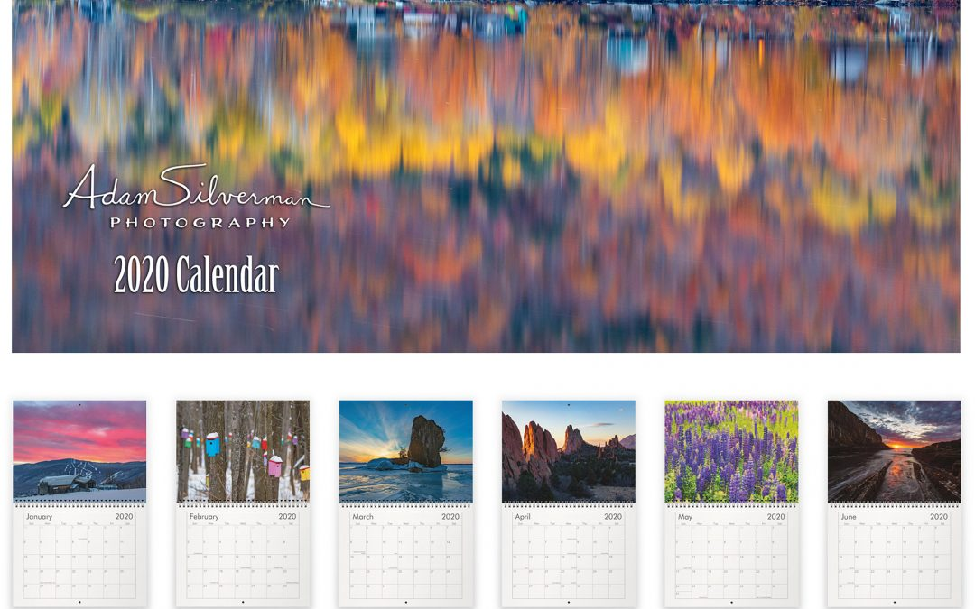 2020 Calendar Available